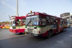 Public transport bus  in Bangkok,Thailand Stock Photos