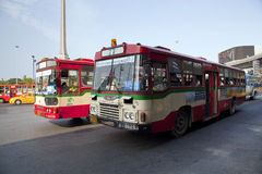 Public transport bus Stock Photos