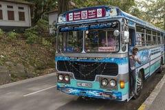 Public transport bus in Sri Lanka Stock Photography