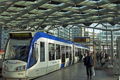 Public Transport in the city The Hague, Netherlands Royalty Free Stock Photo
