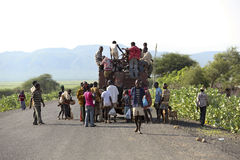 Public transport in Ethiopia. Stock Images