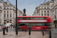 Free Public Transport In Waterloo Place In London Stock Images - 123079924