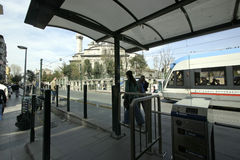 Public transport in Istanbul Royalty Free Stock Photography