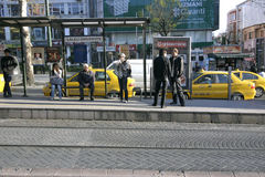 Public transport in Istanbul Royalty Free Stock Photos