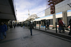 Public transport in Istanbul Royalty Free Stock Image