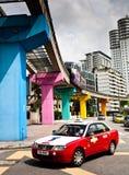 Public transport at Kuala Lumpur, Malaysia Royalty Free Stock Photo