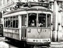 Public transport in Lisbon Stock Image