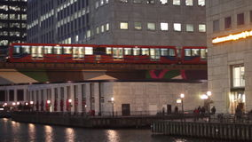 Public transport in London stock footage