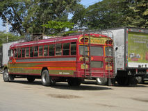 Public transport in Nicaragua stock photo