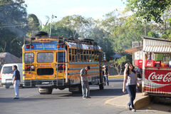 Public transport in Nicaragua stock photography