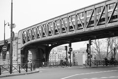 Public transport in Paris Stock Photo