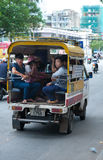 Public transport, Saigon Stock Photo