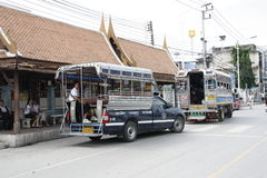 Public transport in Thailand Royalty Free Stock Photo