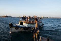 Public transport in Todos los Santos bay Royalty Free Stock Photo