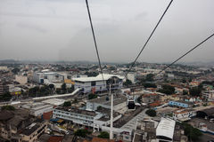 Public Transport - Trains and Cable Car - Rio de Janeiro Royalty Free Stock Photo