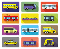 Public transport. Royalty Free Stock Photo