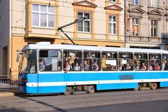 Public transport in Wroclaw Royalty Free Stock Image