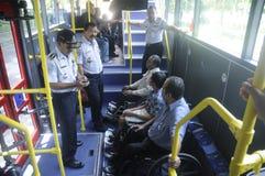 Public transportation Stock Photography