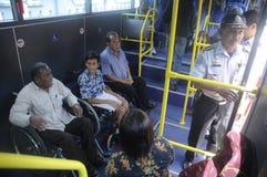 Public transportation Stock Photo