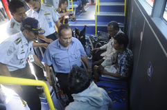 Public transportation Stock Image