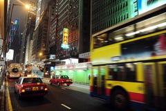 Public Transportation in Hong Kong, China Royalty Free Stock Images