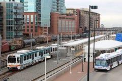 Public Transportation Royalty Free Stock Photo