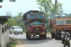 Public transportation in India Stock Photo