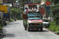 Public transportation in India Stock Image