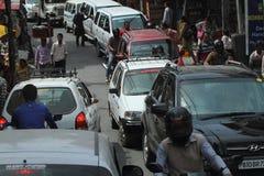 Public transportation in India Royalty Free Stock Photos