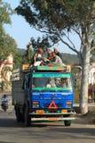 Public transportation in India Royalty Free Stock Image