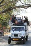 Public transportation in India Stock Photos