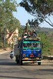 Public transportation in India Royalty Free Stock Photo