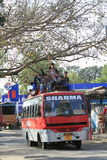 Public transportation in India Stock Image