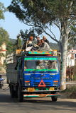 Public transportation in India Stock Photos