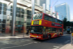 Public transportation london. Image of a typical bus at london Royalty Free Stock Photos