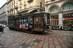 Public transportation in Milan, Italy Royalty Free Stock Image