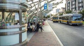 Public Transportation. The public transportation system in Boston, Massachusetts, USA Royalty Free Stock Photography