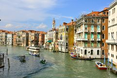 Public transportation in Venice city , Italy Royalty Free Stock Photography