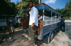 Public transportation in Zanzibar Stock Photo