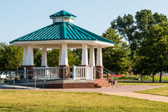 Public Use Gazebo at Buckroe Beach in Hampton, VA. The public use gazebo at Buckroe Beach in Hampton, Virginia.  Buckroe Beach is the site of a former plantation Stock Image