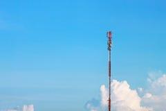 Public utility pole Stock Images