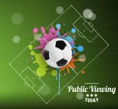 Public Viewing Royalty Free Stock Images