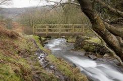 Public Walking Bridge. Royalty Free Stock Photos