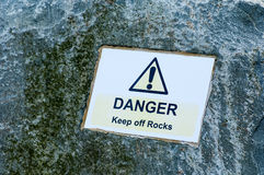 Public warning signs Royalty Free Stock Image