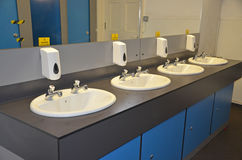 Public Wash Basins Stock Photo