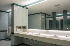 Public washroom Royalty Free Stock Photos