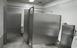 Public washroom stall Royalty Free Stock Image