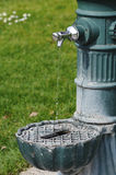 Public Water Fountain Stock Image