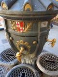 Public Water Fountain, La Rambla, Barcelona Stock Photos