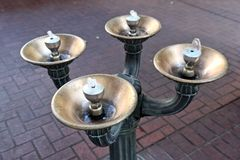 Public Water Fountain Stock Photo